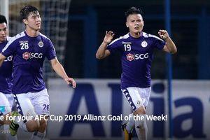Hai siêu phẩm của Quang Hải lọt top bình chọn bàn thắng đẹp bán kết AFC Cup