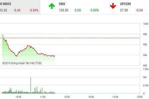 Phiên sáng 23/8: Sắc đỏ áp đảo, VN-Index quay đầu điều chỉnh