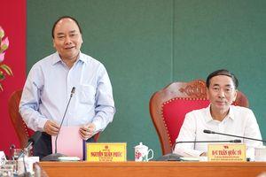 Thủ tướng Nguyễn Xuân Phúc làm việc với lãnh đạo tỉnh Bắc Kạn, và Thái Nguyên