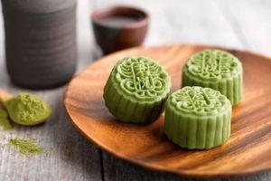 Cách làm bánh trung thu rau câu trà xanh