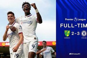 Abraham lập cú đúp, Chelsea có trận thắng đầu tiên dưới thời HLV Frank Lampard