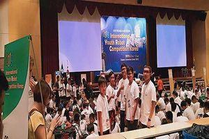 Huyện Hóc Môn đạt thành tích xuất sắc tại cuộc thi Robotacon IYRC Quốc tế 2019