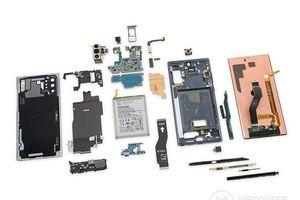 Mổ xẻ Galaxy Note 10+ 5G: nội thất đẹp không kém vẻ ngoài
