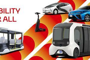 Toyota 'Xanh hóa' đội xe phục vụ Thế vận hội Tokyo 2020