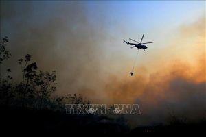 Indonesia huy động máy bay trực thăng đối phó với cháy rừng