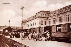 Những bức ảnh cực 'độc' về Ga Hàng Cỏ - Hà Nội đầu thế kỉ 20