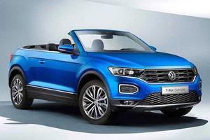 Volkswagen 'nhá hàng' SUV mui trần T-Roc Cabriolet mới