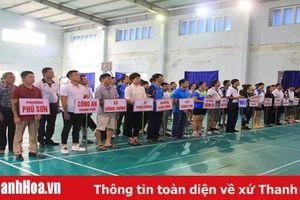 Gần 150 VĐV tranh tài tại giải bóng bàn, cầu lông, quần vợt TP Thanh Hóa mở rộng 2019
