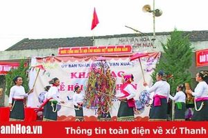 Bảo tồn, phát huy các lễ hội truyền thống