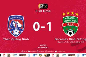 Kết quả vòng 22 V-League: Hải Phòng đánh bại Viettel, Becamex Bình Dương lên top 3