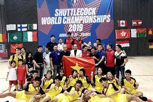 Việt Nam nhất toàn đoàn Giải vô địch đá cầu thế giới