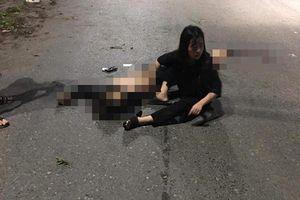 Hiện trường thương tâm vụ xe máy 'kẹp' 5 lao vào dải phân cách, 4 người tử vong ở Thái Nguyên