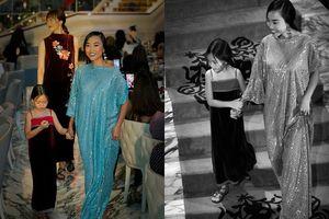 Con gái 5 tuổi của Đoan Trang và chồng Tây 'sành điệu' làm người mẫu