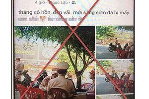 Phạt 7,5 triệu đồng trai làng xúc phạm danh dự, nhân phẩm CSGT Thanh Hóa