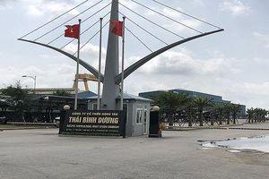 Hải Phòng: Thanh tra Bộ NN & PTNT 'tuýt còi' việc xây dựng của Công ty CP đóng tàu Thái Bình Dương