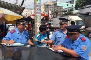 TP HCM tăng cường truy quét 'xe dù' dịp lễ 2/9
