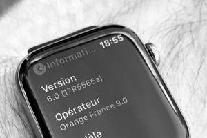 Apple Watch Series 5 có ảnh thực tế đầu tiên