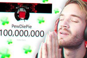 PewDiePie vừa chính thức cán mốc 100 triệu lượt theo dõi trên YouTube