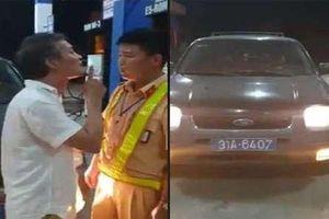 Vụ tài xế xe biển xanh tát vào mặt CSGT: Nhờ đi sửa, người đàn ông lái vào Thanh Hóa