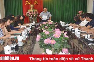 Chuẩn bị tốt các điều kiện tổ chức trưng bày chuyên đề 'Bác Hồ với Thanh Hóa - Thanh Hóa 50 năm thực hiện Di chúc của Chủ tịch Hồ Chí Minh'