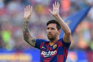 Messi vắng mặt ở trận đấu với Real Betis