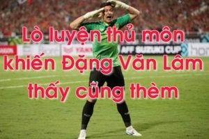 Lò luyện thủ môn khiến Đặng Văn Lâm thấy cũng 'thèm'