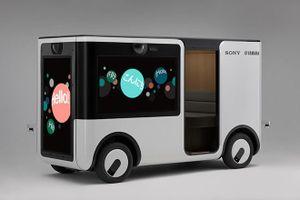 Sony hợp tác Yahama phát triển xe tự hành cho công viên giải trí