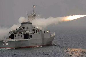 Iran điều tàu khu trục tên lửa hành trình tầm xa đến Vịnh Aden