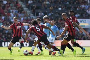 Aguero lập cú đúp, Man City nhẹ nhàng hạ Bournemouth