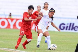 Tuyển nữ Việt Nam vào chung kết giải bóng đá Đông Nam Á 2019
