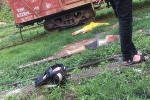 Say rượu bò qua đường sắt, người đàn ông bị tàu hỏa tông tử vong