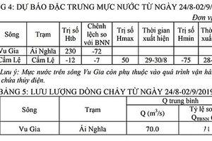 Đà Nẵng: Trong 10 ngày tới, xâm nhập mặn hơn trung bình cùng kỳ nhiều năm