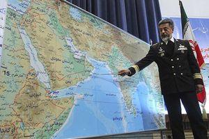 Tàu sân bay Mỹ 'rập rình' ở eo biển Hormuz, chiến hạm 'khủng' của Iran tới vịnh Eden