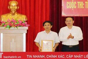 11 tập thể, 30 cá nhân đạt giải Cuộc thi Tìm hiểu 550 huyện Nghi Xuân