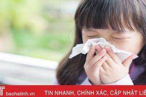 Chăm sóc trẻ mắc cúm đúng cách