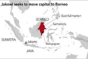 Tổng thống Jokowi công bố thủ đô mới của Indonesia