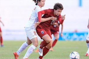 Đả bại 'nữ chiến tượng' Thái Lan, bóng đá nữ Việt Nam đăng quang ngôi hậu giải vô địch Đông Nam Á