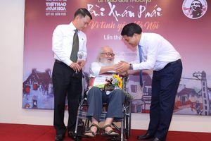 Trao Giải thưởng Bùi Xuân Phái cho những việc làm vì tình yêu Hà Nội