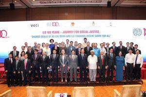 Phó Thủ tướng Vũ Đức Đam: 'Việt Nam luôn tích cực, có trách nhiệm cùng ILO trong hành trình hướng tới mục tiêu công bằng xã hội'