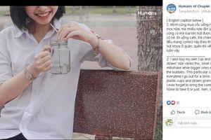 Nữ sinh Hà Tĩnh gây chú ý với chùm ảnh 'Nhật ký bảo vệ môi trường'