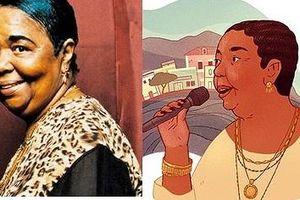 Nữ danh ca Cesária Évora được Google Doodle vinh danh là ai?