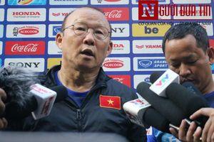 HLV Park Hang-seo nói về cầu thủ nguy hiểm nhất của Thái Lan trước trận quyết đấu sắp tới