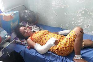Vợ mang thai 7 tháng bị chồng hờ đánh gãy chân tay, cấm nằm viện