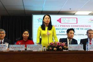 350 gian hàng tham dự Hội chợ Du lịch quốc tế TPHCM