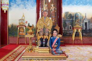 Thái Lan công bố hình ảnh hiếm về Quốc vương và Hoàng quý phi