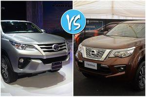 Toyota Fortuner và Nissan Terra: 'Cửa' nào cho tân binh?