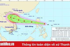Công điện khẩn phòng tránh bão Podul