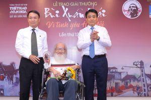 Trao Giải thưởng Bùi Xuân Phái – Vì tình yêu Hà Nội năm 2019