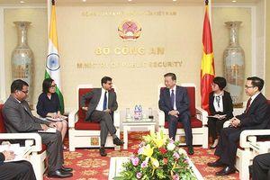 Ấn Độ và Việt Nam đẩy mạnh phối hợp đấu tranh với các loại tội phạm