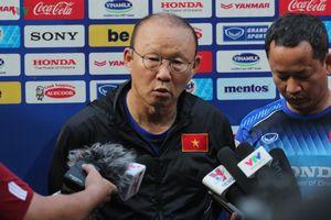 HLV Park Hang Seo giải đáp mọi thắc mắc về danh sách ĐT Việt Nam
